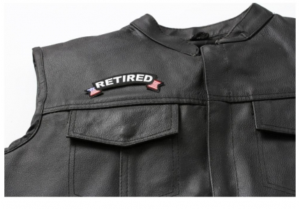 rocker patches on vest