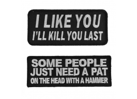 sarcastic patches