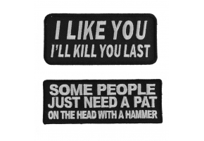 sarcastic patches