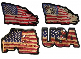 Shop Vintage American US Flag Patches