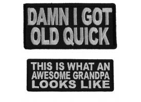 Shop Grandma Grandpa Old Folks Patches