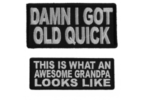 Shop Grandma Grandpa Old Folks Patches