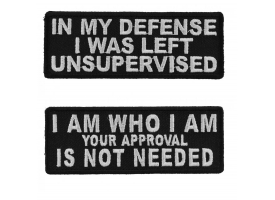 Patches That Begin With I'm