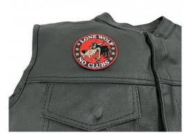 Small Biker Patches with Embroidered Designs