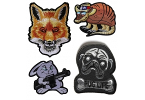 Cute Animal Patches for Heat Pressing