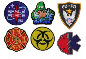 Iron on Patches for your Halloween Costume