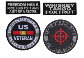 Funny Military Saying Patches