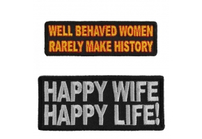 Funny Ladies Patches