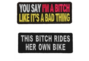 Patches for Bitches