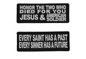 Christian Saying Patches