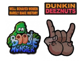 Funny Patches with Color