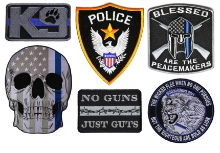 Police Patches | Embroidered Law Enforcement Patches - TheCheapPlace
