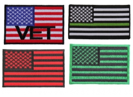 Flags Military Patches