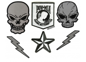 Shop Embroidered Reflective Patches for Safety Biker Patches