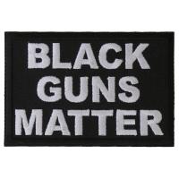 Black Guns Matter Patch