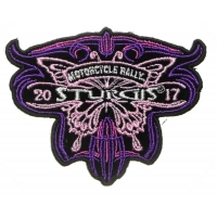 Sturgis 2017 Patch Butterfly