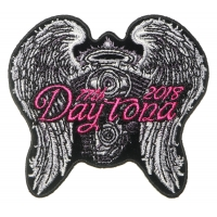 Daytona Bike Week 2018 Patch Angel Wings