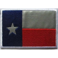 Reflective Texas Flag Patch