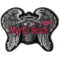 Myrtle Beach 2016 Angel Wings Patch