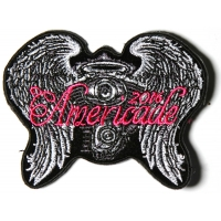 Americade 2016 Bike Week Patch Angel Wings