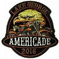 Americade 2016 Bike Week Patch Eagle Motorcycle
