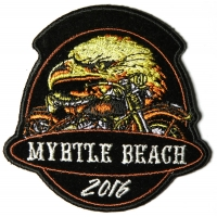 Myrtle Beach 2016 Eagle Motorcycle Patch