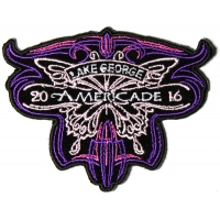 Americade 2016 Bike Week Patch Butterfly