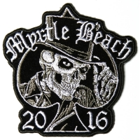 Myrtle Beach 2016 Tall Hat Skull