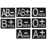 8 Blood Type Identification Patches