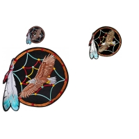 Eagle In Dreamcatcher 3 Size Patch Set