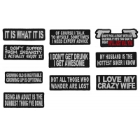 Emergency Christmas Gifts - Set of 10 Patches
