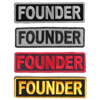 Founder Patches 4 Colors
