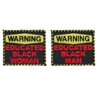 Funny Patches For Educated Black Folks