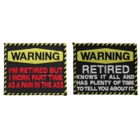 Funny Retired People's Patches