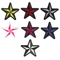 Nautical Star Patches Set Of 7 Stars
