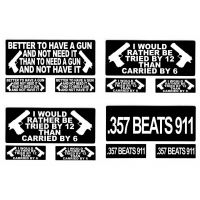 2nd Amendment Bumper Stickers - Stand For Your Right To Bear Arms