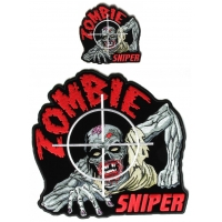 Zombie Patches Small Large Sniper Patch Set