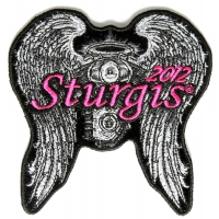 Sturgis 2012 Patch Angel Wings
