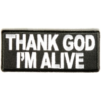 Thank God I'm Alive Patch