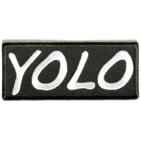 Yolo Patch | Embroidered Patches