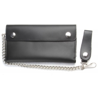 Large Credit Card Leather Wallet