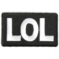 Lol Patch | Embroidered Patches