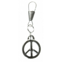 Peace Sign Zipper Pull