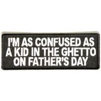 Confused As A Kid In Ghetto Patch