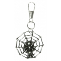 Spider With Web Zipper Pull
