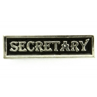 Secretary Pin Silver Plated