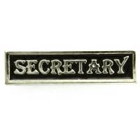 Secretary Pin Silver Plated