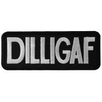DILLIGAF Patch | Embroidered Patches
