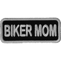 Biker Mom Patch | Embroidered Patches