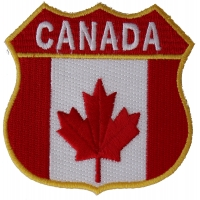 Canadian Shield Patch - Canada Flag | Embroidered Patches